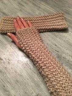 Je tricote des mitaines trop faciles !