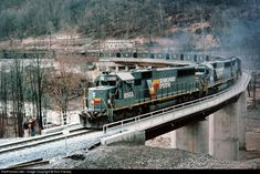 RailPictures.Net Photo: SBD 8503 Seaboard System EMD SD50 at Big Stone Gap, Virginia by Ron Flanary