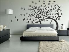 2 ideas Low Cost for the decoration of a double bedroom Home Bedroom, Bedroom Wall, Bedroom Decor, Master Bedrooms, Interior Design Living Room, Modern Interior, Interior Decorating, Diy Home Decor, House Design