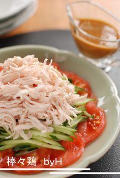 低脂肪でアレンジしやすい♪毎日食べたい「鶏のささみ」のレシピ ... ゆでたささみを細かく裂いてトマトやキュウリと一緒に盛り付け、ピリ
