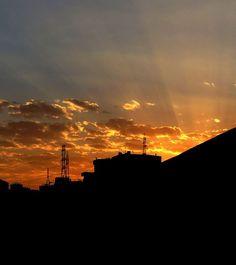 When sky goes reddish! #cloud #red #reddish #skyporn #bright #amazing #canon #redsky #sky #bluesky #amazing #soft #skyporn #blue #tehran #teheran #iran #persian #تهران #ایران #ابر #آسمان #تهرانگردی #عکس #عکاسی #تهران_من #tehranpic #ایرانگردی