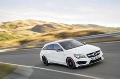 Mercedes-Benz Reveals CLA Shooting Brake and CLA 45 AMG Shooting Brake