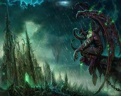 World of Warcraft Illidan HD desktop wallpaper : Widescreen : High ...