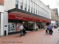Wrexham Bargain Buys 2015 What Happened To You, 40 Years, The Locals, Centre, Buildings, Street View