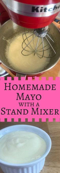 I make this mayo weekly. It uses real ingredients. No sugar, soybean or other ingredients that are not inline with or Paleo lifestyles. The recipe is super simple! Homemade Mayo Recipe, Homemade Tomato Paste, Homemade Sauce, Kitchen Aid Recipes, Kitchen Aid Mixer, Kitchen Tools, Kitchen Gadgets, Kitchen Aide, Clematis Florida