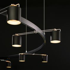 Track lighting-Suspended linear lights-Suspended lights-BALANCE 25-Buschfeld Design