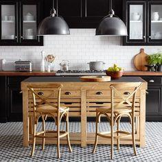 Cooper Double Kitchen Island   Williams-Sonoma