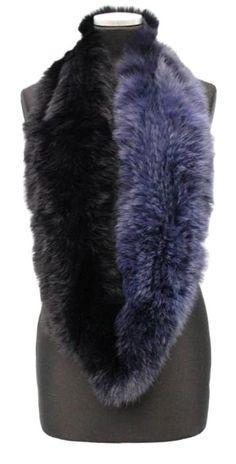 Rabbit Fur Coat, Fur Wrap, Faux Fur Vests, Infinity, Winter Fashion, Navy Blue, Furs, Accessories, Style
