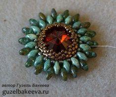 кольцо от Гузели Бакеевой - Bead Tutorial