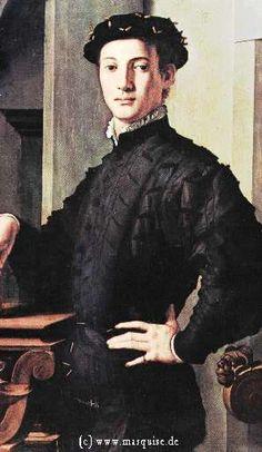 Junger Mann mit einem Buch, 1535; Agnolo di Cosimo aka Bronzino; Land: i Klasse: n