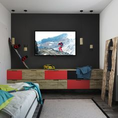 Boys bedroom ideas grey large size of home accent boys bedroom storage girls room decor boy Kids Bedroom Paint, Boys Bedroom Storage, Modern Kids Bedroom, Kids Bedroom Designs, Small Room Bedroom, Kids Room Design, Bedroom Colors, Bedroom Ideas, Small Rooms