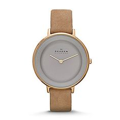 Ditte Women's Leather Watch
