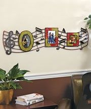 Music room decor