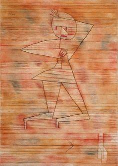 Paul Klee (1879–1940) Fleeing Ghost 1929