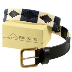 Pampeano – Leather Polo Belt – Jugadoro