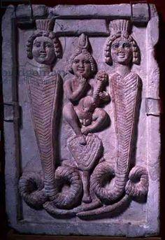 Serapis, Harpocrates, Isis