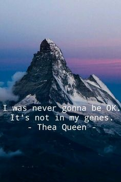 Thea Queen quote