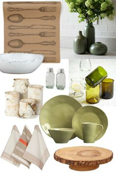 A Rustic St. Patrick's Day Brunch  Décor + Dinner from Apartment Therapy & The Kitchn... I already have the silverware paper runner!