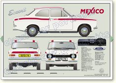 Page Ford Escort Mexico Ford Rs, Car Ford, Ford 2020, Escort Mk1, Ford Escort, Classic Mercedes, Ford Classic Cars, Ford Motor Company, Ford Capri