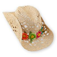 Hats off to her style! | The Children's Place #cowboyhat #flowers #spring