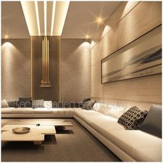 No photo description available. Drawing Room Ceiling Design, Drawing Room Interior, Ceiling Design Living Room, Home Room Design, Home Interior Design, Living Room Designs, Luxury Home Decor, House Rooms, Interiors