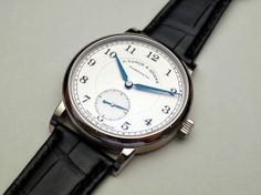 Lange & Söhne : 1815 38,5mm (SIHH 2014) Men's Watches, Luxury Watches, Cool Watches, Watches For Men, Telling Time, Tic Tac, Gallery, Dress, Stuff To Buy