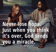 Just think in your next step there might be some miracle.so never lose hope - Quotes Lds Quotes, Bible Verses Quotes, Bible Scriptures, Faith Quotes, Motivational Quotes, Inspirational Quotes, Faith Prayer, Faith In God, Spiritual Quotes