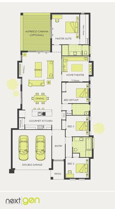Mcdonald Jones Homes Cordova One Collection Floorplan Floorplans Design Luxuryhome
