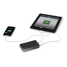 #mophie juice pack powerstation®duo - 6000 mAh portable battery that can charge any 2 USB devices at once.