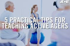 Fitness programs for older adults are included many top fitness trends lists for 2016, which means the opportunity has never been greater for health and fitness professionals to hone their message to this dynamic and vocal population. Here are five refreshing tips for making interactions with the active aging market both successful and enjoyable. Workout Plans, Workout Routines, Workout Programs, Fitness Programs, Senior Fitness, Fitness Tips, Health Fitness, Ultimate Workout, Teaching