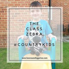 Tigger brought the class Zebra home last weekend so many Adventures #countrykids