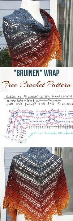 Bruinen Wrap [Free Crochet Pattern]