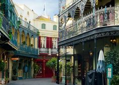 N is for New Orleans Square