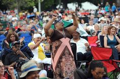 2012 River Raisin Jazz Fest, Art Fair draw enthusiastic crowds in Monroe MI.