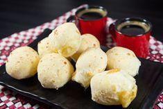 Receita de pão de queijo de micro-ondas