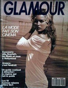 GLAMOUR France - Nº 13 - May 1989 Fashion Editor, Fashion News, Fashion Models, Glamour France, 80s And 90s Fashion, Scarlett, Hollywood, Famous Models, Contemporary Fashion