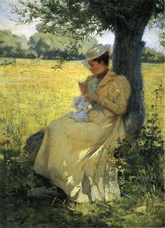 Under the Willow (Herbert F. Denman - 1893)