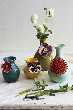 gorgeous vases by Anthropologie