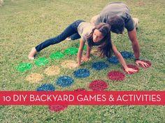 Roundup: 10 Fun DIY Backyard Entertainment Ideas   Curbly