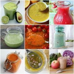To Insanity & Back: 50+ DIY Salad Dressing Recipes ( 21 day fix dressings)