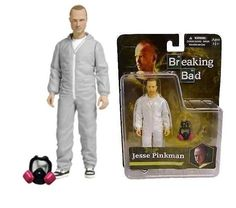 """Breaking bad jesse #pinkman white hazmat suit - 6"""" #action figure by #mezco toys,  View more on the LINK: http://www.zeppy.io/product/gb/2/131903906693/"""