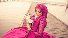 Menyasszonyok hidzsábban - gyönyörű fotók