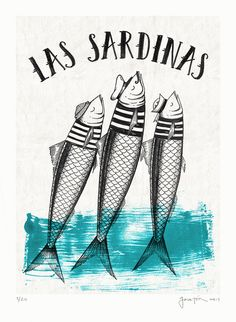 Affiches - Famous Last Words Sailor Illustration, Graphic Illustration, Graphic Art, Cactus Drawing, Sea Art, Coastal Art, Fish Art, Grafik Design, Painting & Drawing