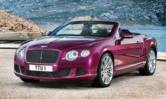 Bentley Continental GT Speed Cabrio 2013