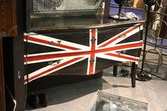 Union Jack dresser