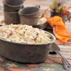 Ultimate potato salad with mustard soft egg and bacon recipe better homes gardens magazine for Better homes and gardens potato salad