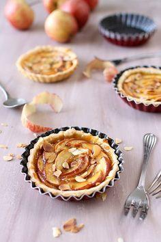 Tartelettes aux pommes et caramel
