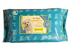 Keli Anti-Bacterial Pets Grooming Wet Wipes 60 counts * Read more at the image link. (This is an affiliate link and I receive a commission for the sales) Keep Cats Away, Chihuahua Names, Wet Wipe, Cat Accessories, Cat Grooming, Dog Paws, Counting, Pet Supplies, Pets