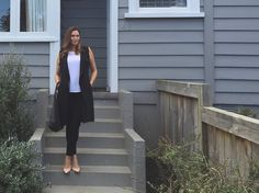 One item worn three ways featuring this sleeveless trench from Jaqui E