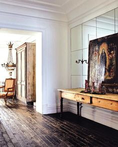 vintage floors and details